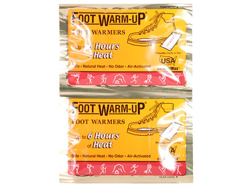 HotHands The Foot Warmup Foot Warmer Pack of 6