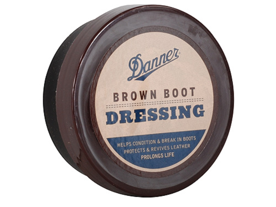 Boot Dressing Synthetic Brown