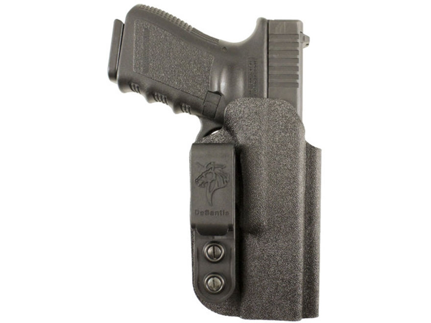 "DeSantis Slim-Tuk Inside The Waistband Holster Ambidextrous S&W J-Frame 2-1/4"" Kydex Black"