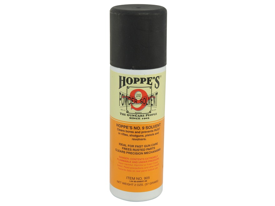 Hoppe's #9 Bore Cleaning Solvent 2 oz Aerosol