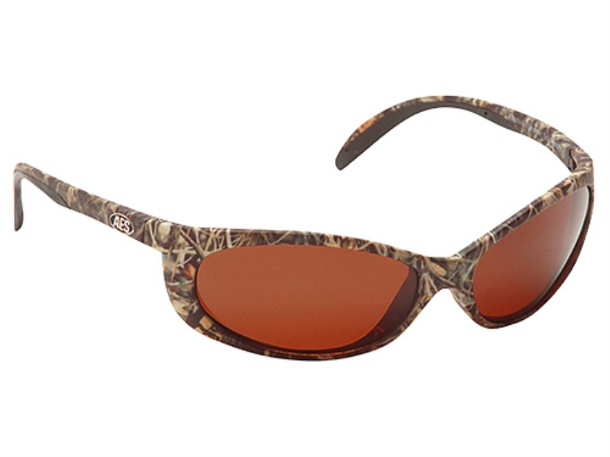 Realtree Oxbow Polarized Sunglasses Polymer Frame Realtree Max-4 Camo