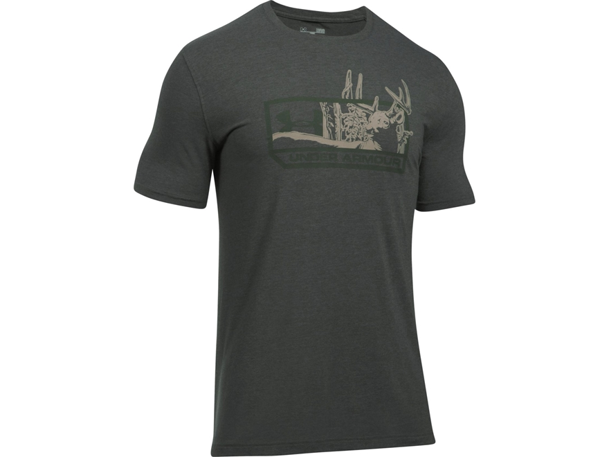Under Armour Men's UA Whitetail T-Shirt Short Sleeve Charged Cotton