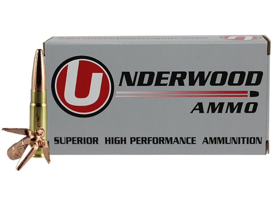Underwood Ammunition 300 AAC Blackout Subsonic 194 Grain Lehigh Maximum Expansion Lead-...