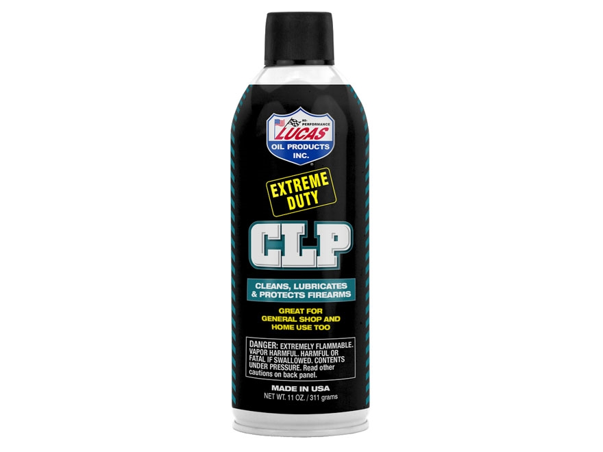 Lucas Oil Extreme Duty CLP (Bore Cleaning Solvent, Lubricant, Rust Preventative) 11 oz ...