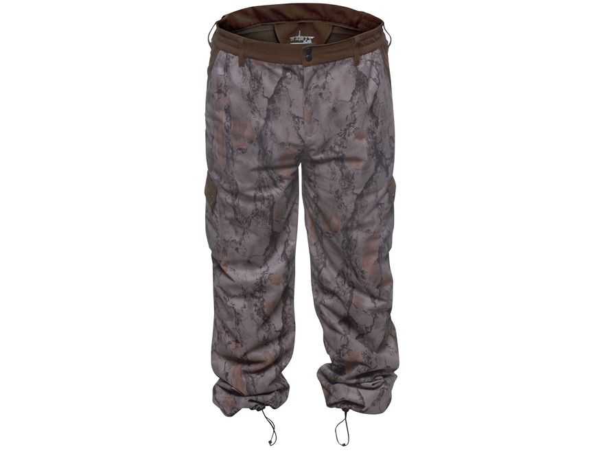 Natural Gear Men's Scent Factor Pants Polyester Brown and Natural Gear Natural Camo Lar...