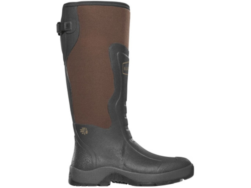 "LaCrosse Alpha Mudlite 18"" Waterproof Uninsulated Hunting Boots Rubber Clad Neoprene Br..."