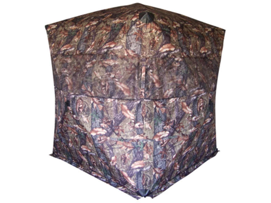 "Rhino Outdoors Rut & Strut Ground Blind 80"" x 80"" x 69"" Polyester Buckthorn Camo"