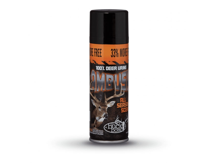 Hunter's Specialties Buck Bomb Ambush Deer Scent 6.65 oz Aerosol