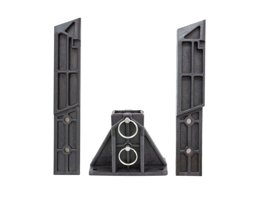 ERGO MAST Modular Armorer's Stand Base with Blocks for Glock Small Frame 17, 19, 22, 23...