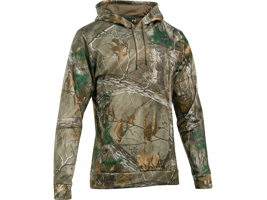 Under Armour Men's UA Franchise Camo Hoodie Polyester