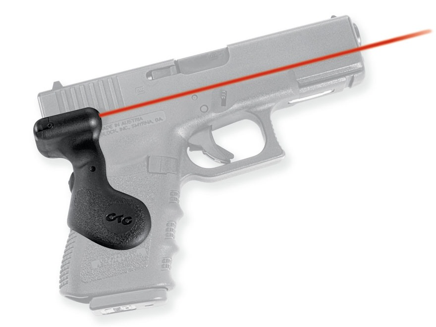 Crimson Trace Lasergrips Glock Gen-3  Rear Activation Polymer Black