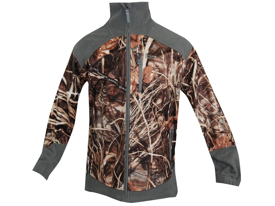 Banded Men's UFS Fleece Jacket Polyester Realtree Max-4 Camo Large