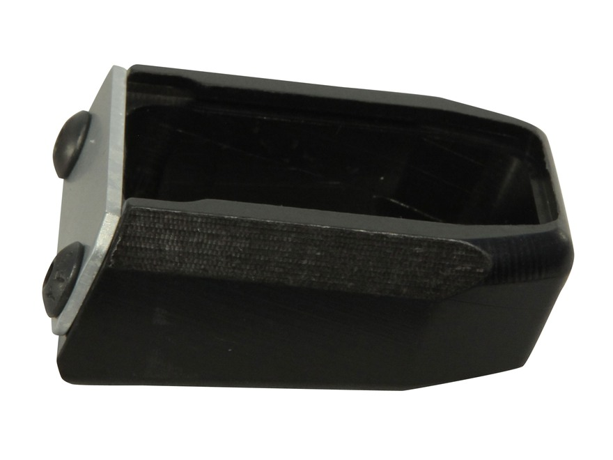 Taylor Freelance Extended Magazine Base Pad S&W M&P +1 45 ACP Aluminum Black