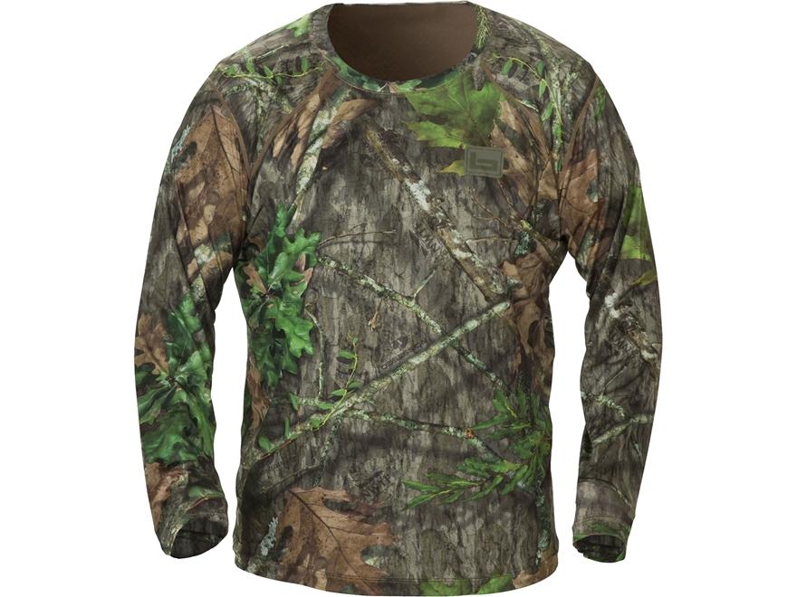 Banded Men's Tech Stalker Mock Shirt Long Sleeve Polyester