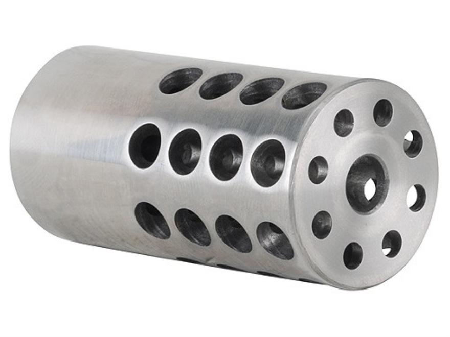 "Vais Muzzle Brake 1"" 243 Caliber, 6mm 11/16""-24 Thread 1"" Outside Diameter x 2"" Length ..."