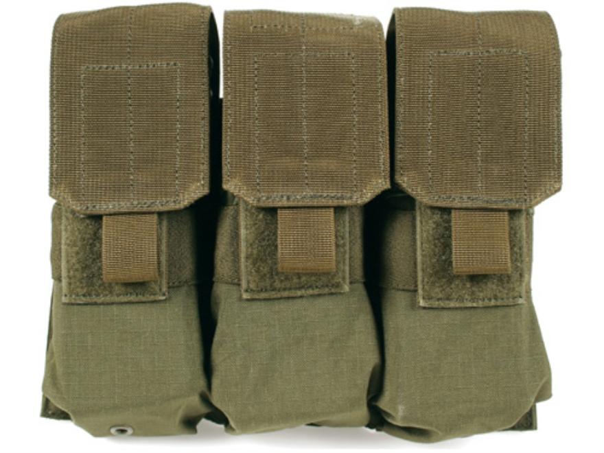 BLACKHAWK! S.T.R.I.K.E. MOLLE M4/M16 Magazine Pouch Holds AR-15 30 Round Magazines Nylon