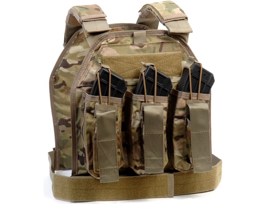 US Palm AK Defender Series Soft Body Armor Level IIIA Front Panel 500d Cordura Nylon