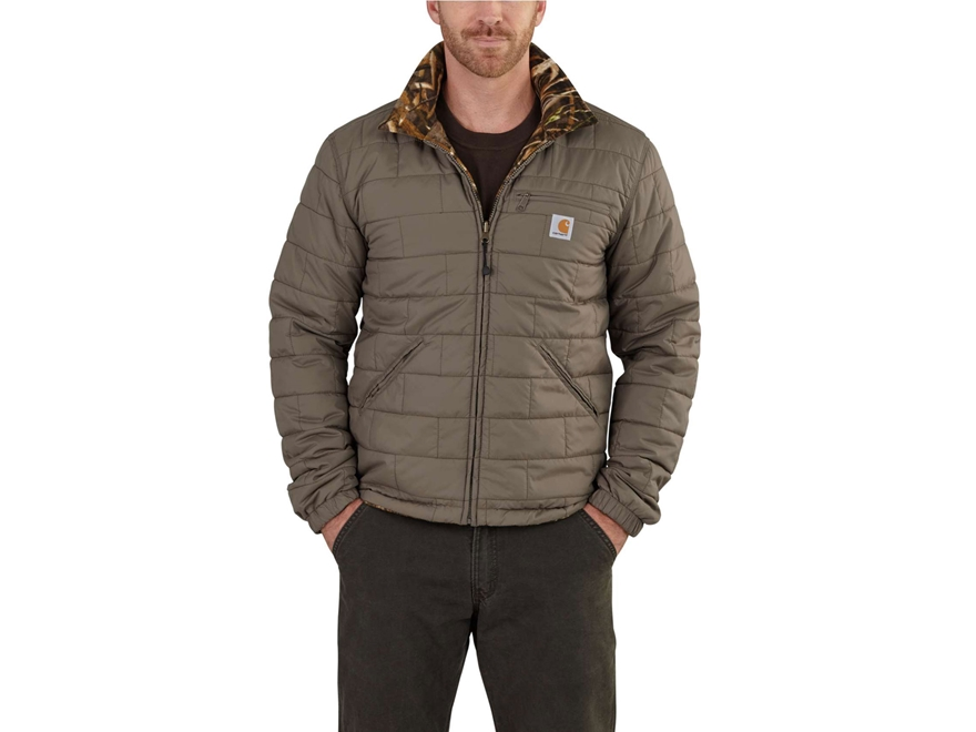 Carhartt Men's Woodsville Reversible Insulated Jacket Nylon