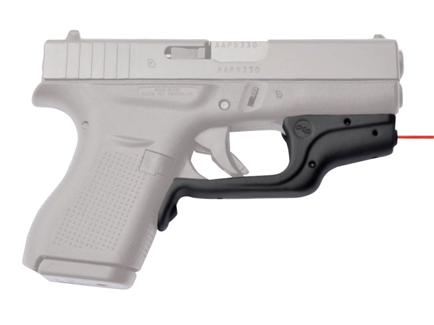 Crimson Trace Laserguard Glock 42, 43 Front Activation Black
