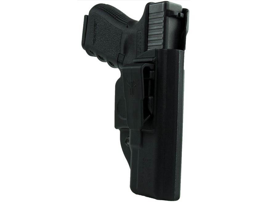 Blade-Tech Klipt Appendix Inside the Waistband Holster Right Hand Glock 43 Polymer Black