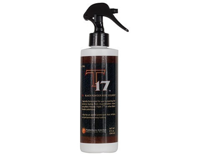 Thompson Center T-17 Black Powder Bore Solvent Spray 8 oz