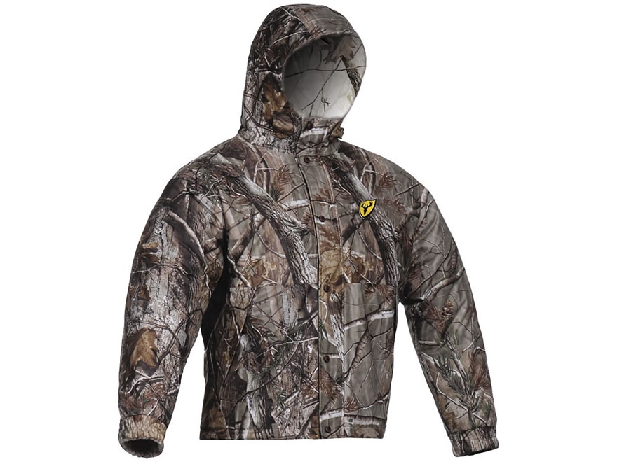 ScentBlocker Men's Switchback Reversable Jacket Polyester and Fleece Realtree Xtra and ...