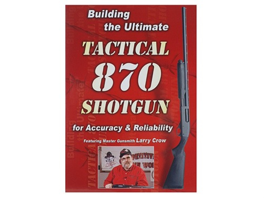 "Competitive Edge Gunworks Video ""Building the Ultimate Tactical 870 Shotgun"" DVD"