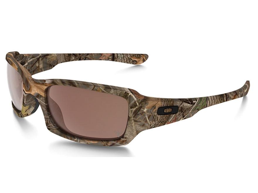Oakley Fives Squared Sunglasses Woodland Camo Frame/VR28 Black Iridium Lens