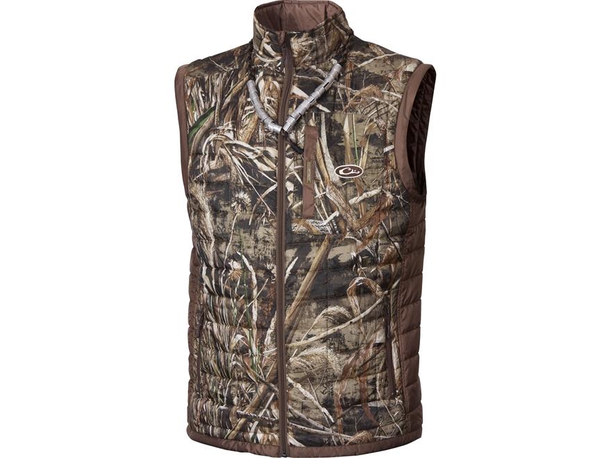 Drake Men's MST Two-Tone Down Pac Vest Polyester