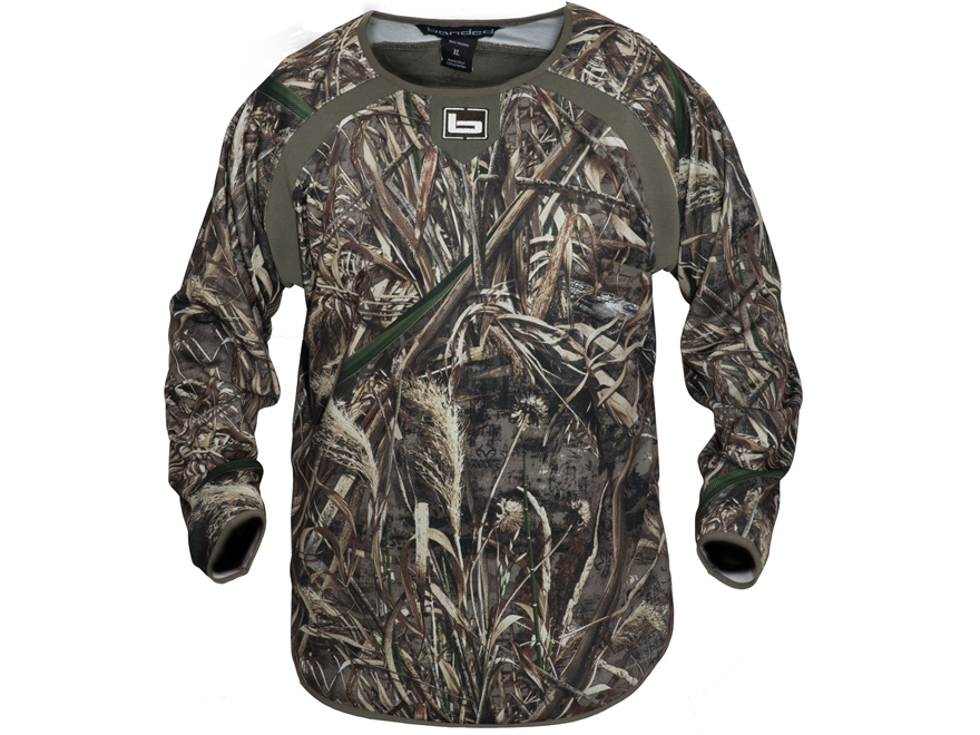 Banded Men's Early Season Mid-Layer Shirt Long Sleeve Polyester