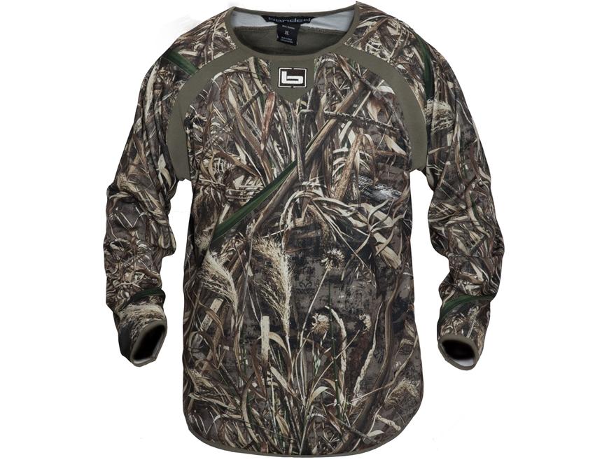 Banded Men's Early Season Mid-Layer Shirt Long Sleeve Polyester Realtree Max-5 Camo 2XL