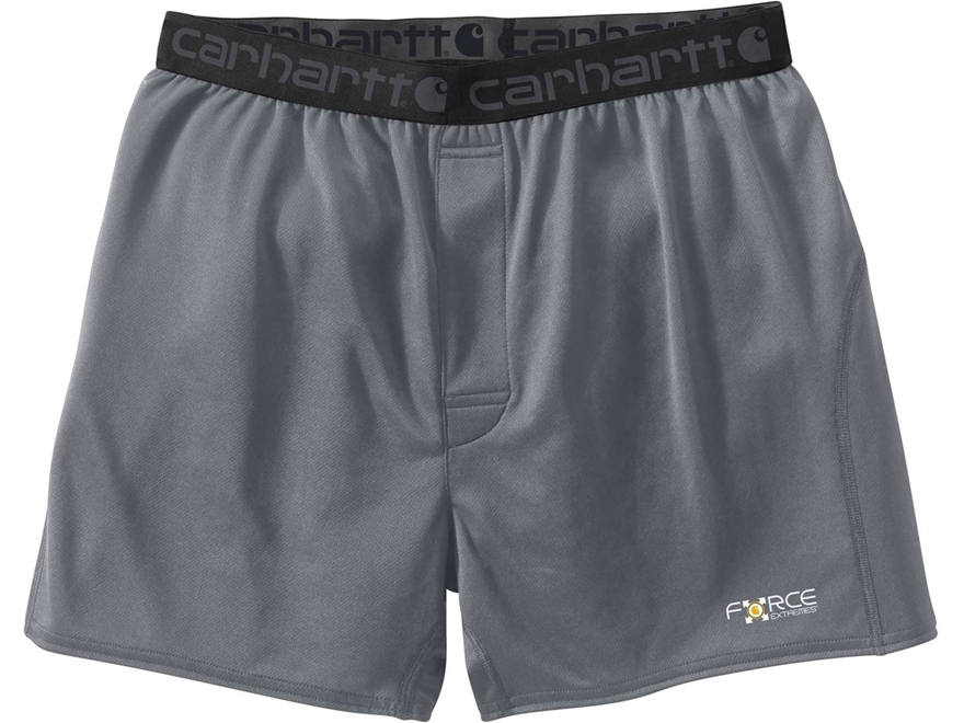 Carhartt Men's Base Force Extremes Lightweight Boxers Polyester/Cocona 37.5