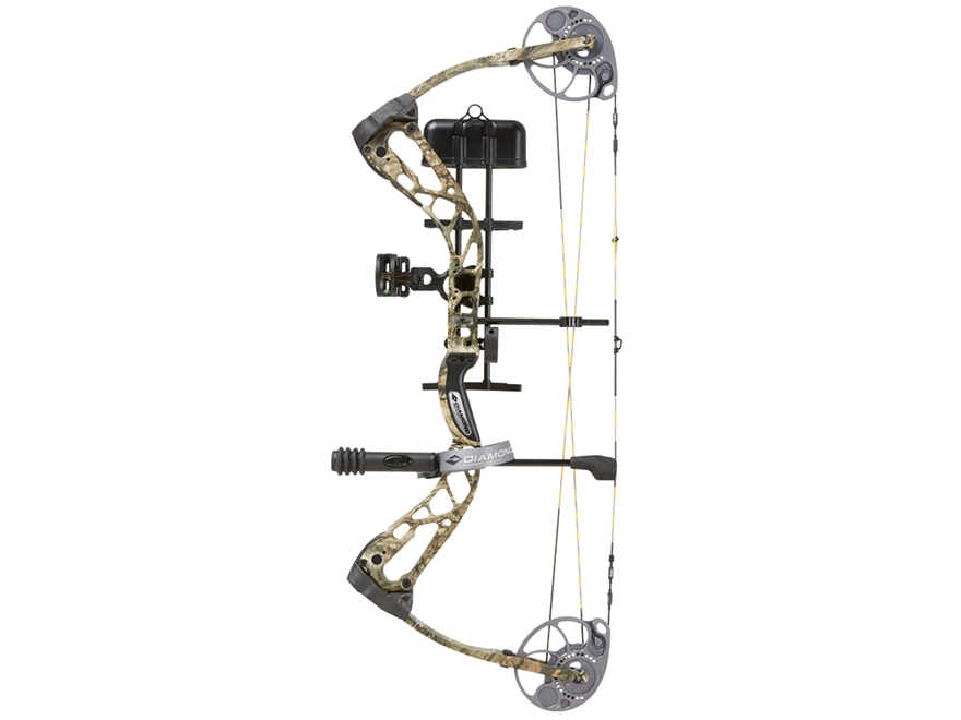 "Diamond Edge SB-1 Compound Bow Package Right Hand 7-70 lb Draw Weight 15""-30"" Draw Length"