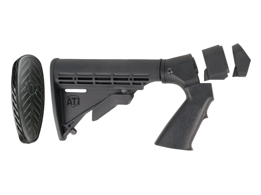 Advanced Technology Shotforce 6-Position Collapsible Stock with Pistol Grip & Scorpion ...