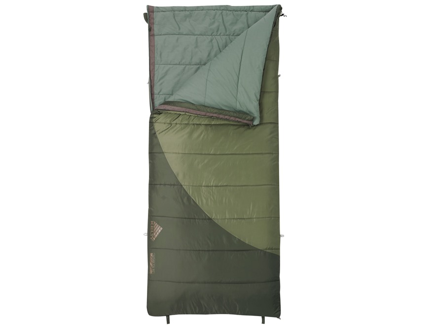 Kelty Tumbler 30-50 Degree Sleeping Bag Polyester Cypress Green