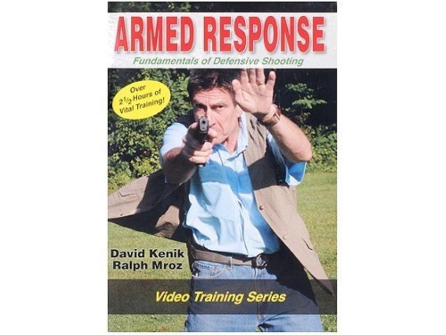 "David Kenik Video ""Armed Response: Fundamentals of Defensive Shooting"" DVD"
