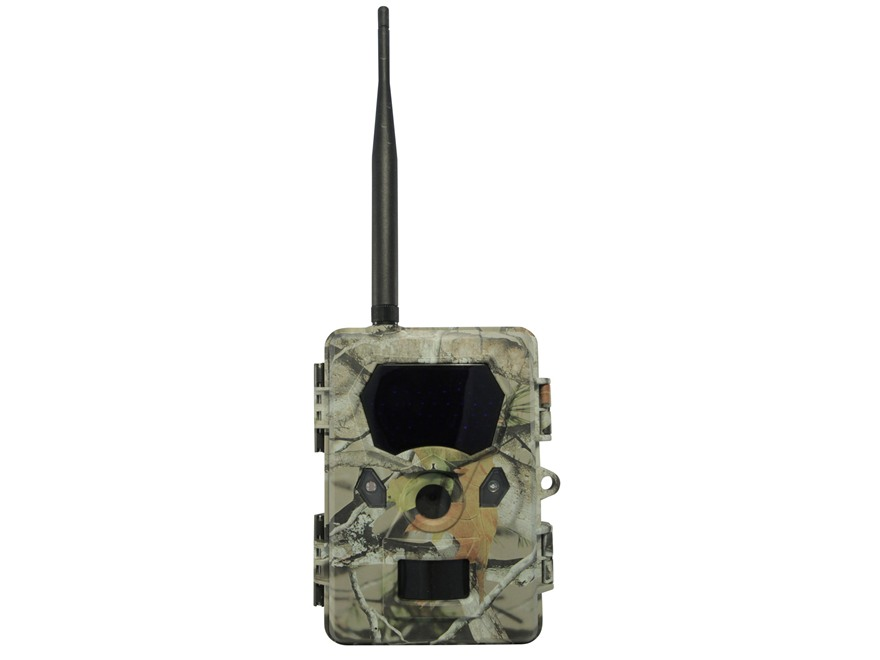 Uway Vigilante Hunter MB500 Cellular Black Flash Infrared Game Camera 8 Megapixel Black
