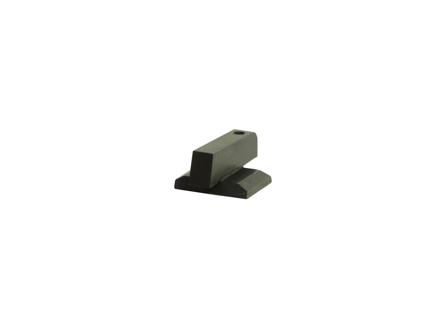 "Ed Brown Front Sight Plain Dovetail .180"" Height Steel Black"