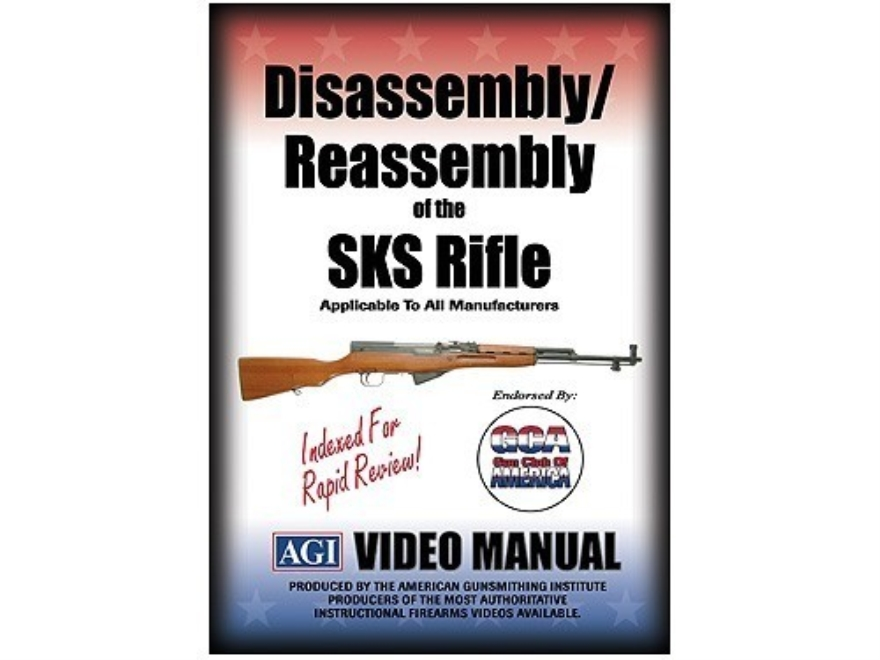 "American Gunsmithing Institute (AGI) Disassembly and Reassembly Course Video ""SKS Rifle..."