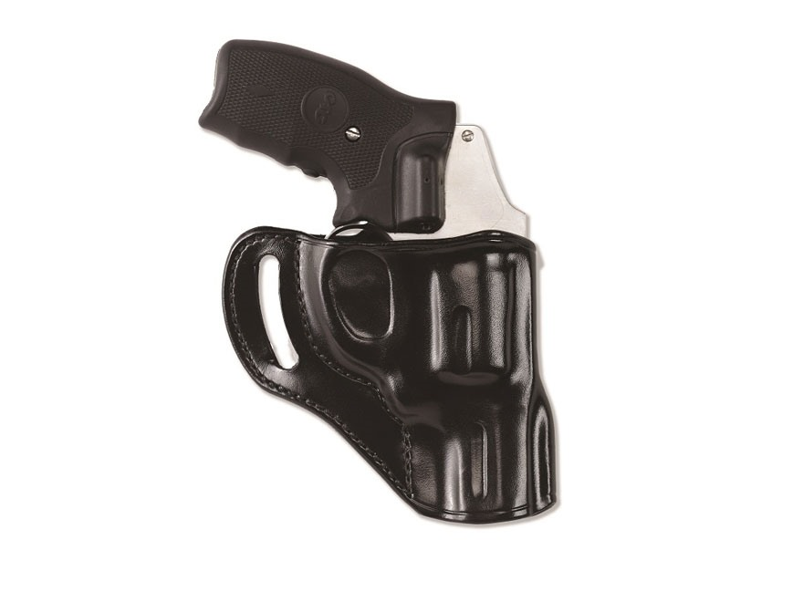 "Galco Hornet Belt Holster Right Hand S&W J Frame 3"" Barrel Leather Black"