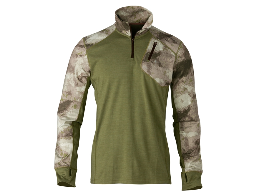 Browning Men's Hell's Canyon Speed MHS 1/4 Zip Pullover Merino Wool