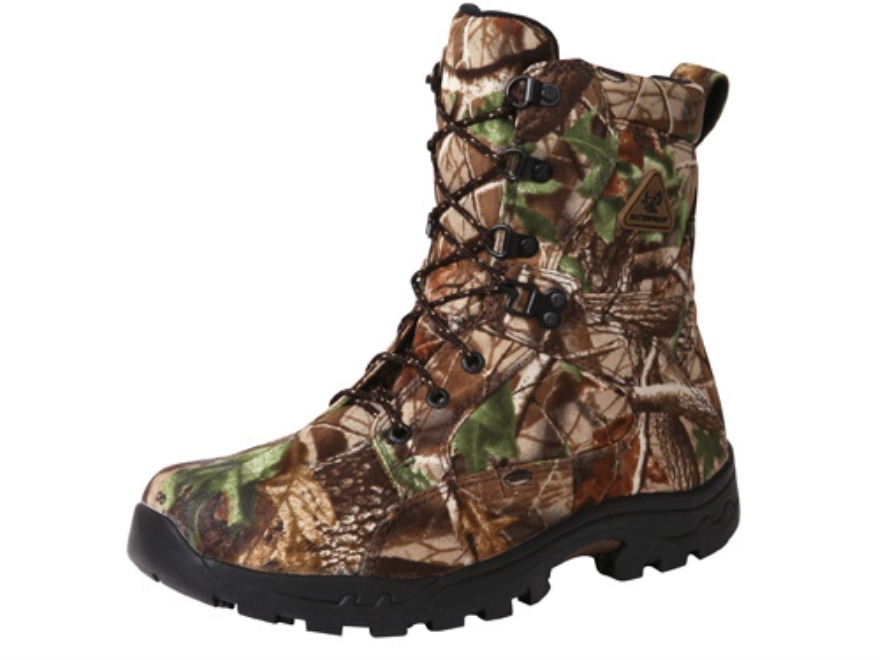 "Rocky ProLight 6"" Waterproof Uninsulated Hunting Boots Nylon Realtree APG Camo Mens 11-..."