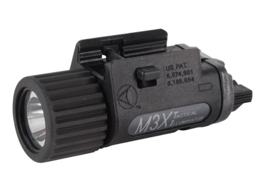 Insight Tech Gear M3X Tactical Illuminator Flashlight LED  Universal Rail Fit Polymer B...