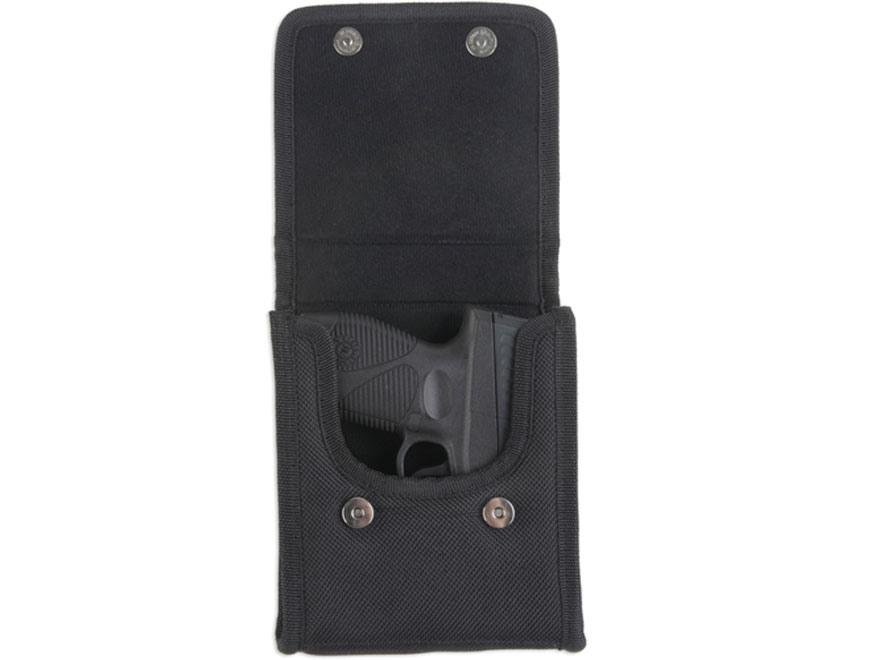 Bulldog Vertical Cell Phone CCW Holster Ambidextrous Nylon Black
