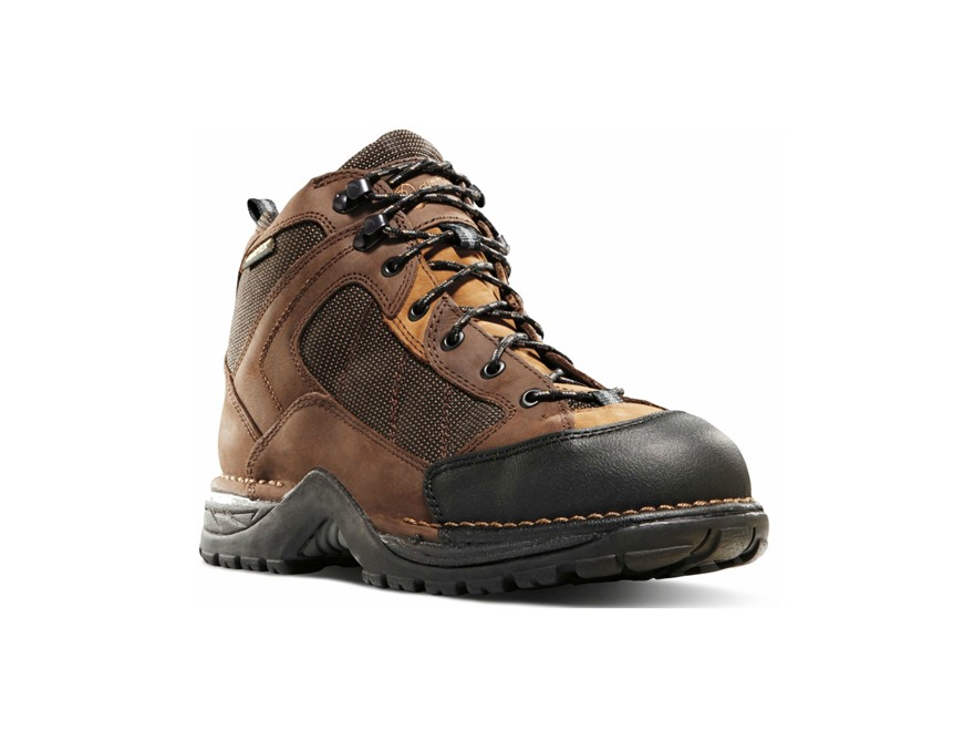 """Danner Radical 452 5.5"""" Waterproof Uninsulated Hiking Boots Leather and Nylon Coffee Men's"""