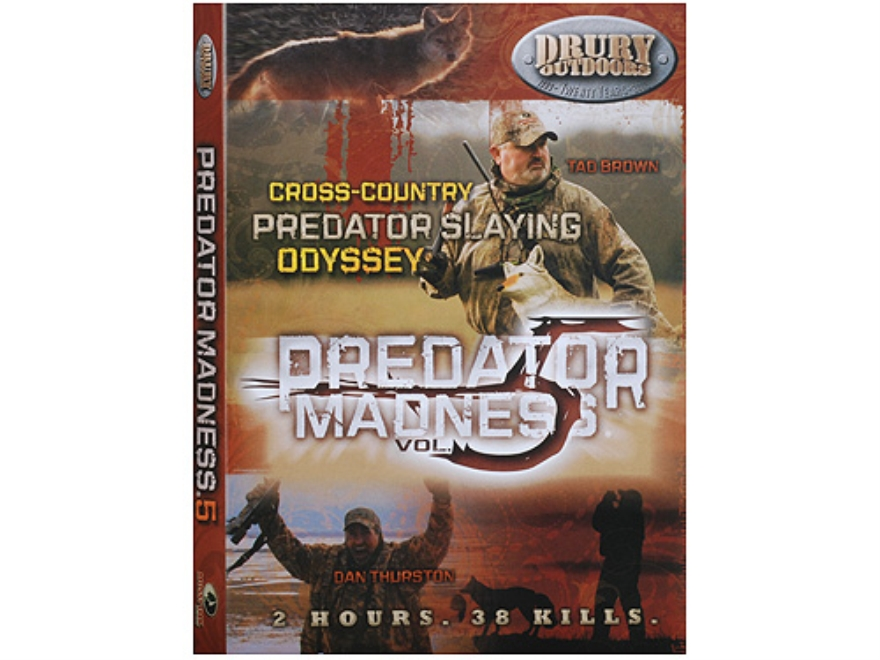 Drury Outdoors Predator Madness 5 Video DVD