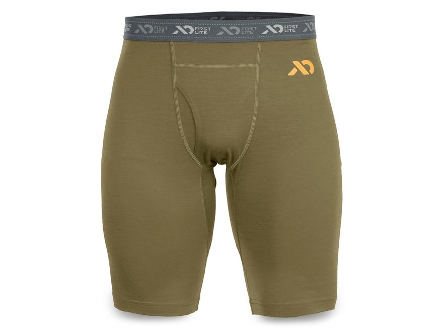 First Lite Men's Dobson Boxer Underwear Aerowool Blend