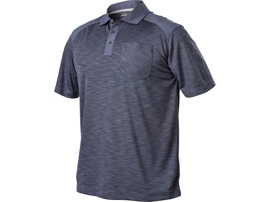 BLACKHAWK! Men's Performance Polo Short Sleeve Polyester