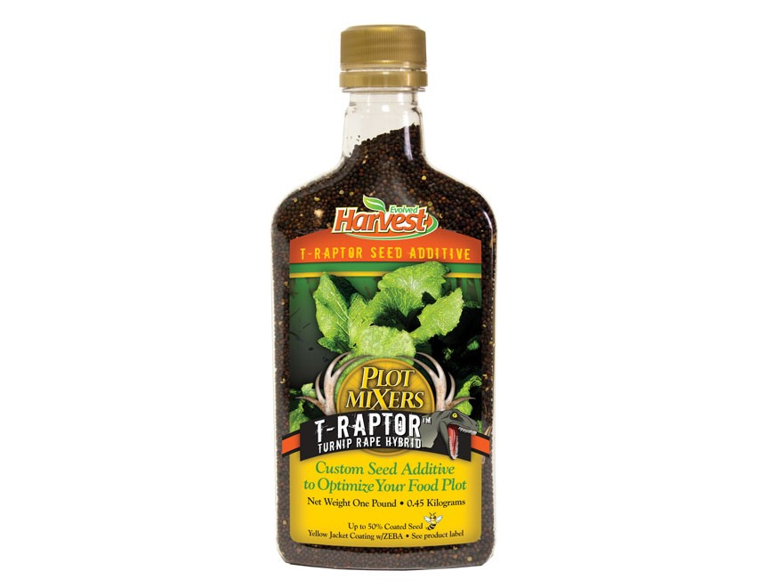 Evolved Harvest Plot Mixer T-Raptor Hybrid Food Plot Seed .6 lb