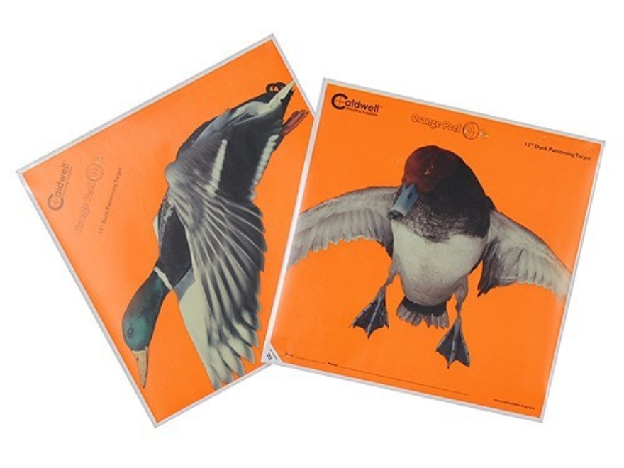 "Caldwell Orange Peel Duck Target 12"" Self-Adhesive Package of 5"